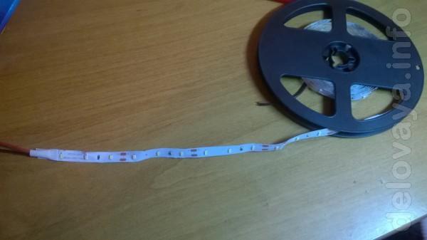 Светодиодные лента 3528 Светодиодные лента 3528 300LED 60LED/м  DC 1