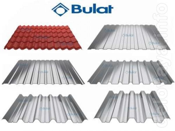 Компания «Булат» предлагает металлочерепицу и профнастил из стали кон
