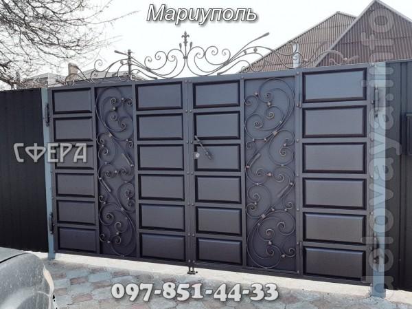 Распашные ворота являются самым распространенным видом ворот. Могут о