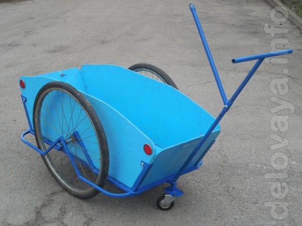 Грузовая тележка, велоприцеп универсальный Везун-4 СГ. Может использо