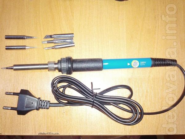 Новые паяльники с керамическим нагревателем (что позволяет нагреватьс
