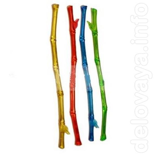 - Мешалка «Бамбук» цветная 100 шт. Д 205 мм. – 67.58 грн. упаковка. -
