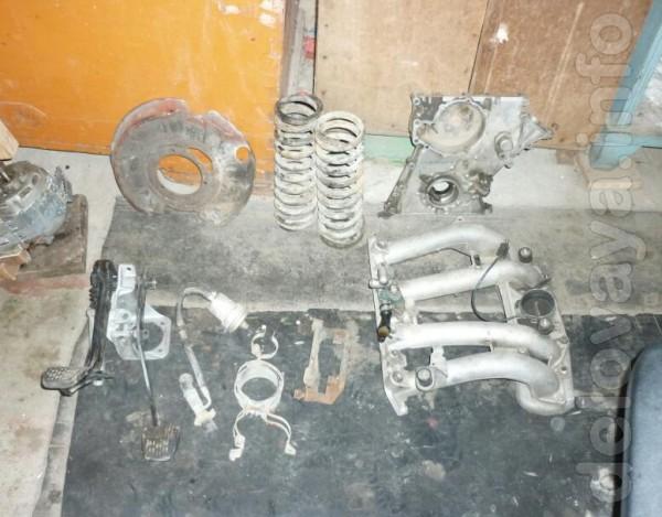 Рампа МВ-190Е, 2 литра, инжектор,воздухофильтр и т.д.