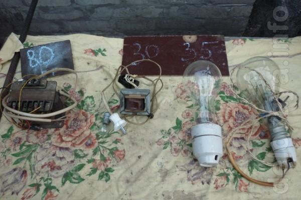 Трансформатор, лампы