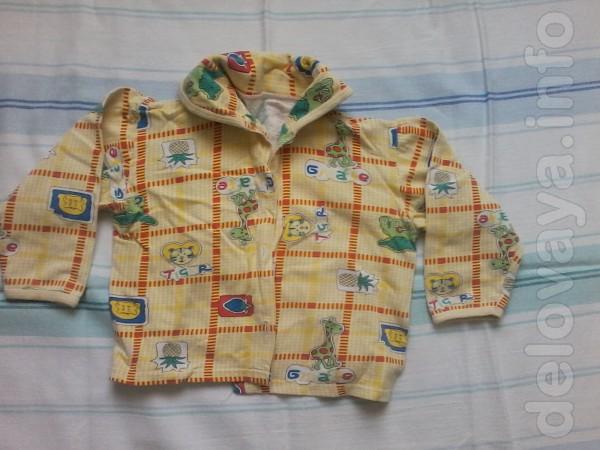 Продам кофту с пижамы на мальчика от 3-х до 5-ти лет.