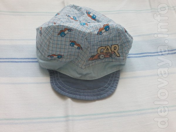 Продам летнюю кепку на мальчика от 2-х до 4-х лет.