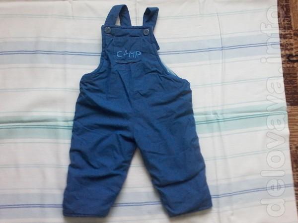 Продам брюки с комбинезона б/у на мальчика от 3-х до 5-ти лет.