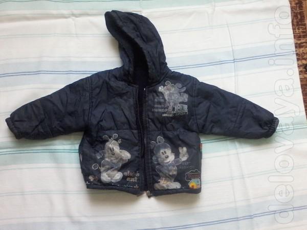 Продам детскую куртку б/у на мальчика от 2-х до 5-ти лет.