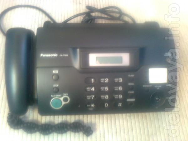 Продам телефон-факс Panasonic KX-FT932UA, черный. В отличном состояни