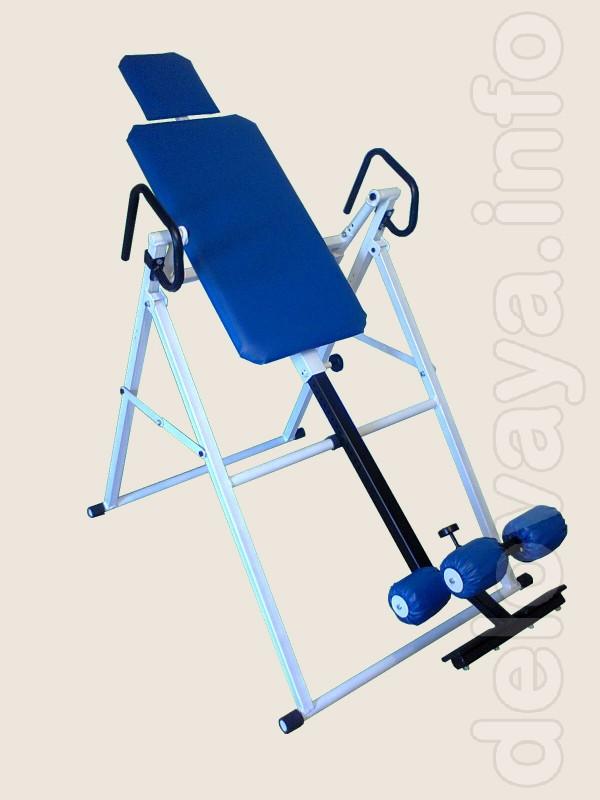 Продам инверсионный стол (механический, складной, для домашних тренир