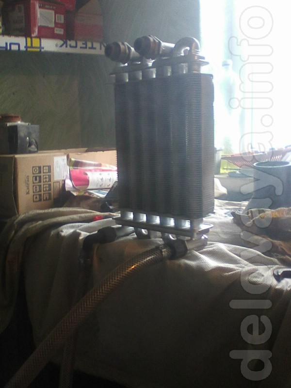 Мы осуществляем промывку теплообменников котлов колонок что позволяет