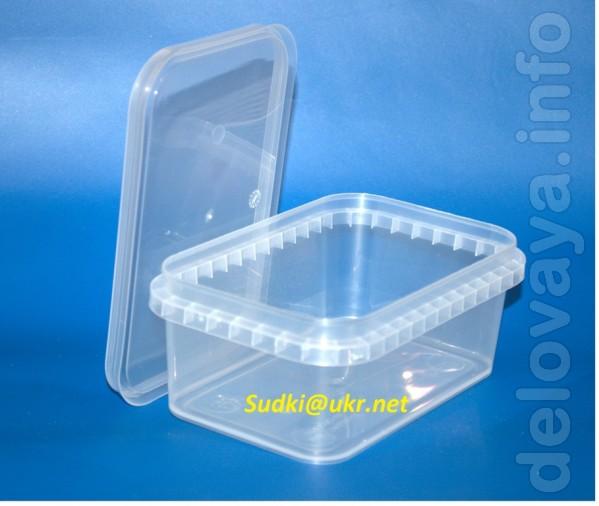 Пластиковый контейнер полностю герметичен и идеально подходит для хра