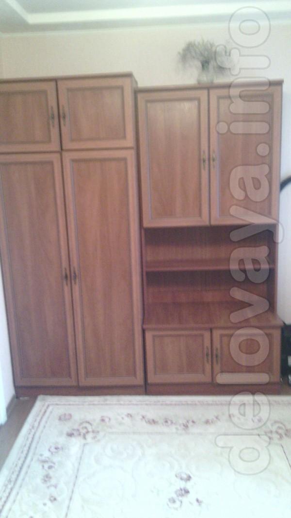 Шкаф плательный, шкаф книжный. Высота 2м, ширина 0,90м, глубина 0,50м