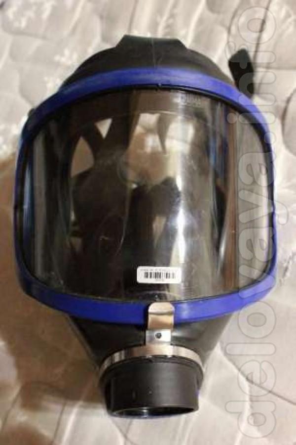Панорамная полнолицевая маска Drager X-Plore 6300 Противогаз новый .