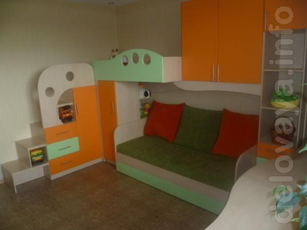 Корпусная мебель любой сложности под заказ детские , кухни , шкафы-ку