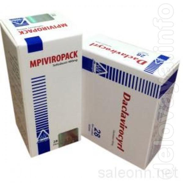 Купите Viropack +daclavirocyrl (Виропак + Даклавироцирл) оптом – серт