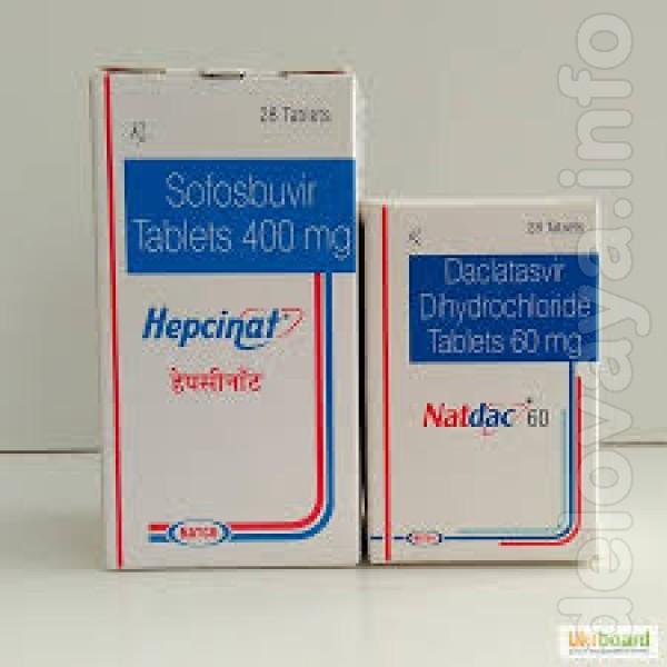 Купите Hepcinat+ natdac (Гепцинат+ Натдак) по низкой цене – оригиналь