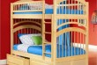 Характеристики кровати двухъярусной Артемон  Размер спального места