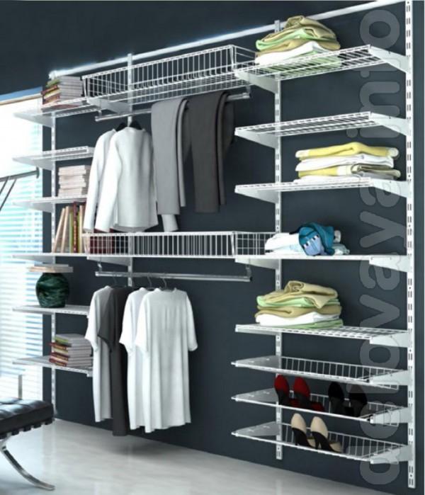 Производство гардеробной системы хранения вещей. Изготавливается гард