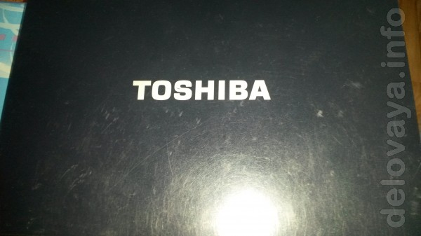 Ноутбук 'Toshiba' .Intel Celeron CPU 520 , 1,60ггц , ОЗУ-1гб , HDD-12