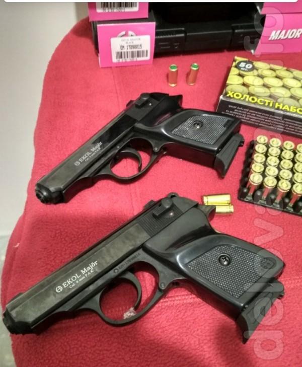 Пистолет ekol major (в наличии чёрный цвет) используется для подачи з