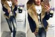 Новинка! Зимняя джинсовая курточка на меху. Новая. Размер 44 (М) (мож