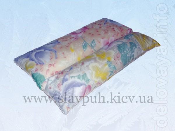 Ортопедическая подушка для сна с наполнителем из гречневой шелухи (50