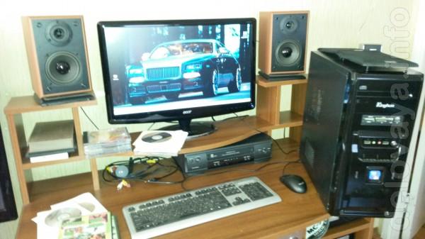 Компьютеры в сборе (3-комплекта) с Ж/К или ЭЛТ монитором +принтер +ст