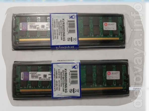 Новые модули памяти DDR 2 для платформ на базе AMD  Производитель: K