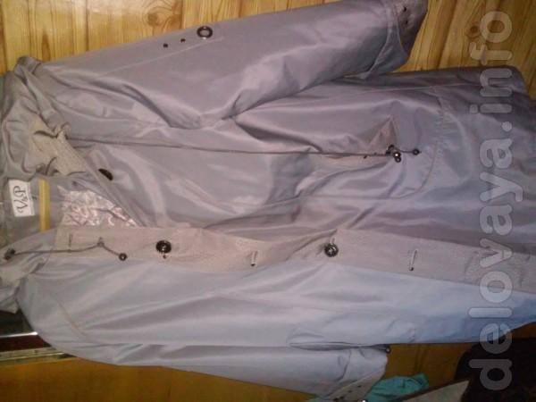 Куртка женская, длинная, утеплённая, размер 52-56, не была в употребл
