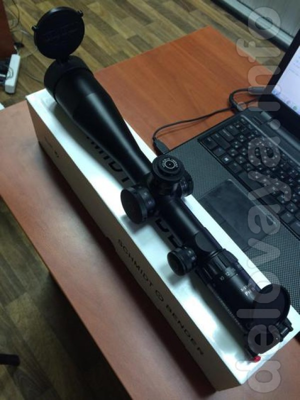 Продам оптику Schmidt & Bender PM II 5-25x56 F1 сетка P4Lfein с подсв