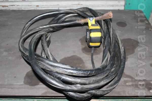 Продам сварочные жилы, диаметр жилы без оплетки 1 см. или 50(кв.мм) 2