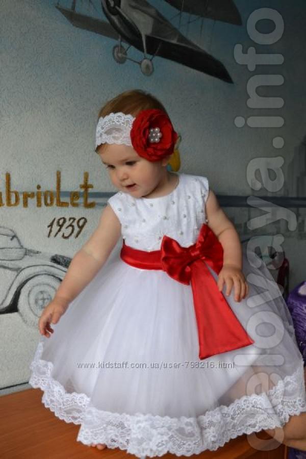 Как сшить пышное платье на годовалую девочку 56