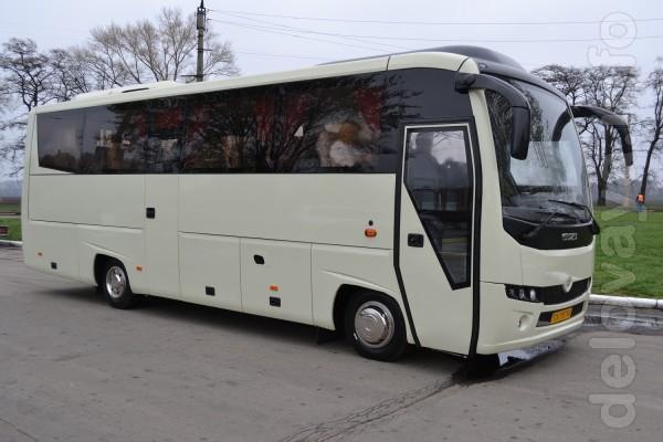 Модификация: А-096: Туристический автобус  на базе агрегатов ISUZU.