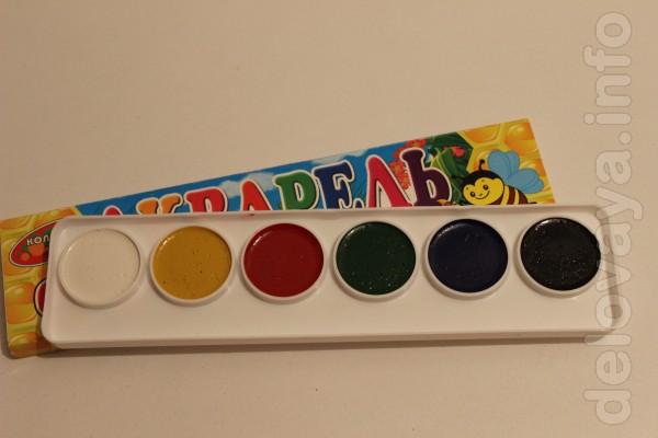 Предлагаю разнообразить досуг Вашего ребенка! Качественные краски акв
