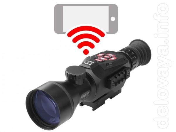 Продам оптику день/ночь ATN X-SIGHT II HD 5x-20x (Дешево!) Характери